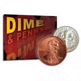 Dime & Penny Illusion Precision With Bang Ring