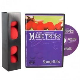 Amazing Easy To Learn Magic Tricks- Spongeballs Combo