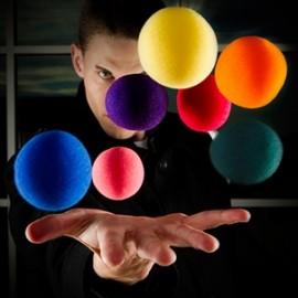 7 Color Spongeballs Set