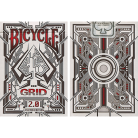 Bicycle Grid Deck 2.0 (Red Limited Edition)