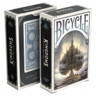 Bicycle Kingdoms Playing Card (Blue)