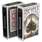 Bicycle Kingdoms Playing Card (Red)
