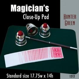 Magician's Close Up Pad (Hunter Green) 17.75