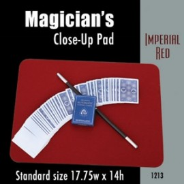 Magician's Close Up Pad (Imperial Red) 17.75