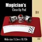Magician's Close Up Pad (Red) 15.5